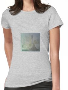silver buildings Womens Fitted T-Shirt