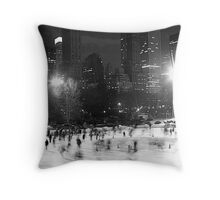 Wollman Rink, Central Park, New York City Throw Pillow
