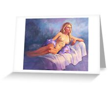 Joanna Reclining Greeting Card