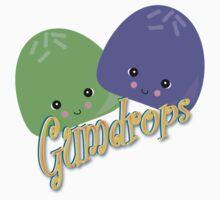 Cute Kawaii Gumdrops Characters by doonidesigns