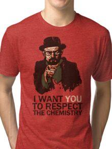 Respect the Chemistry - Breaking Bad Tri-blend T-Shirt