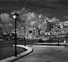 Quay Lamp Posts by Edwin  Catania