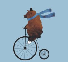 Cheltenham the Bear: Penny farthing fun One Piece - Short Sleeve