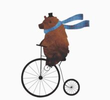 Cheltenham the Bear: Penny farthing fun Kids Clothes