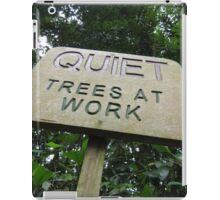 Quiet Trees At Work iPad Case/Skin