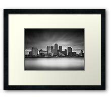 Canary Wharf - London Framed Print