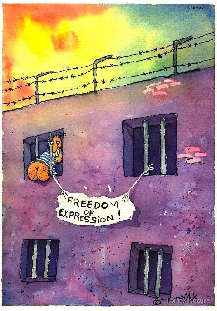 Freedom of Expression by Tomek Kozyra