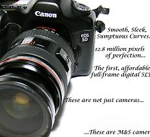 Camera Advert Mockup by priddylaydee