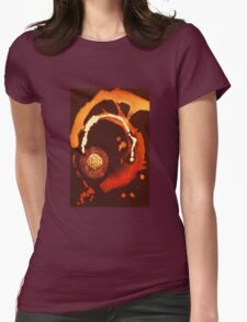 Splashed Across SPACE Womens Fitted T-Shirt