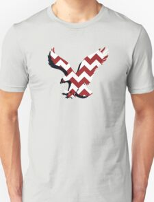 Chevron Auburn Eagle Unisex T-Shirt