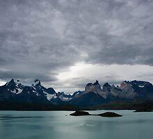 Torres del Paine cloudy evening by Ivan Ilarionov