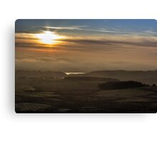 As the mist rolls in Canvas Print