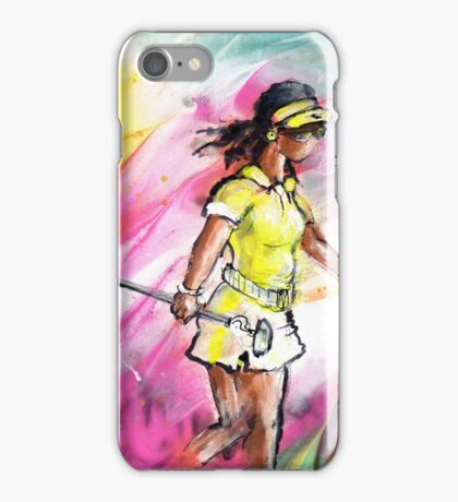 Lady Golf 03 iPhone Case/Skin