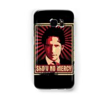 Show No Mercy poster - distressed Samsung Galaxy Case/Skin