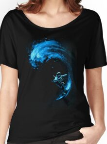 Space Surfing Women's Relaxed Fit T-Shirt