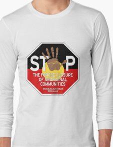 OFFICIAL MERCHANDISE - #SOSBLAKAUSTRALIA design 4 Long Sleeve T-Shirt