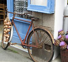 French Bicycle by Lou Chambers
