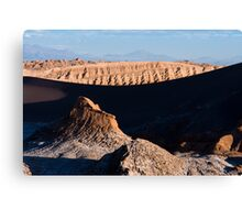 Valle de la Luna Canvas Print