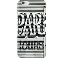 No Parking Graffiti iPhone Case/Skin