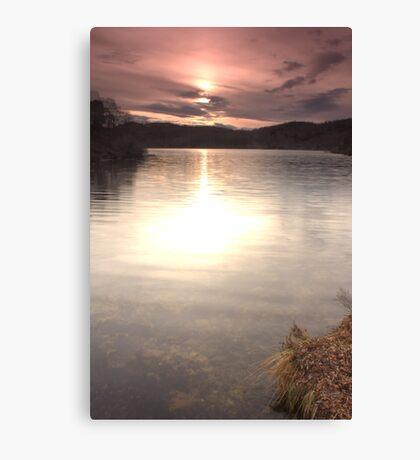 Loch nam Bad Canvas Print