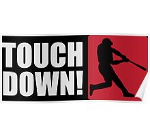 Touch down! Poster