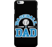 Baseball Dad iPhone Case/Skin