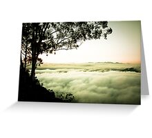 Above the Clouds, Zomba, Malawi Greeting Card