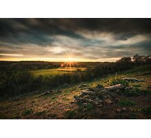 Sunset In The Shire Photographic Print