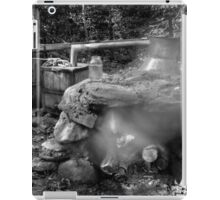 Moonshine Still in Black and White iPad Case/Skin