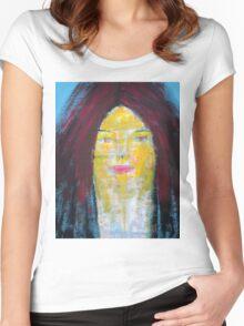CLARA CLEOLINDA Women's Fitted Scoop T-Shirt