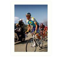 Alberto Contador, Paris-Nice 2009 Art Print
