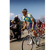 Alberto Contador, Paris-Nice 2009 Photographic Print