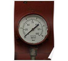 Pressure gauge Poster