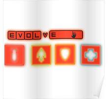 Evolve Hunter classes Poster