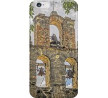 """Ramona - I Hear The Mission Bells Above"" - Mission Espada, San Antonio, Texas, USA iPhone Case/Skin"