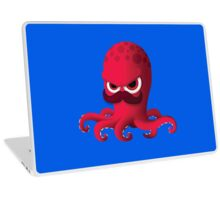 "Bubble Heroes - Boris the Octopus ""Solo"" Edition Laptop Skin"