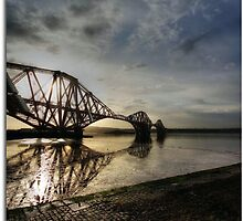 Forth Rail Bridge #1 by bluefinart