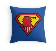 Super-Dalek Throw Pillow