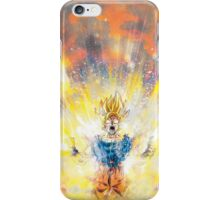 Dragon Ball Z - Super Saiyan Goku iPhone Case/Skin