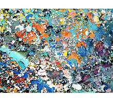 Instant Abstract Photographic Print