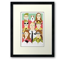 Time For Love And Adventure (Faces & Movies) Framed Print