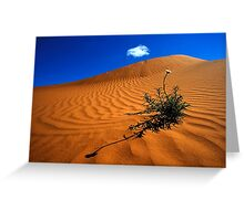 Perry Sand Dune Greeting Card