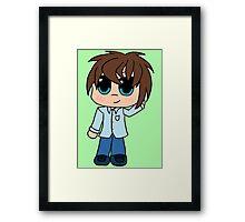 Say Hi to... Preston Framed Print