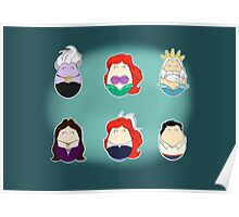 Little Mermaid Tiggles Poster