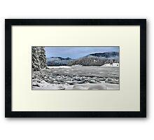 Kanish Bay in winter Framed Print
