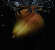 Pear in water by nrgpix