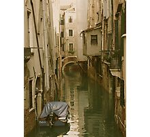 VENICE- PHOTO OR WATERCOLOR? Photographic Print