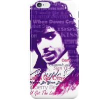 Purple Reign / Prince iPhone Case/Skin