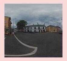 Carrick Crossroads, Donegal(Rectangular)  One Piece - Long Sleeve