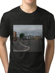 Carrick Crossroads, Donegal(Rectangular)  Tri-blend T-Shirt